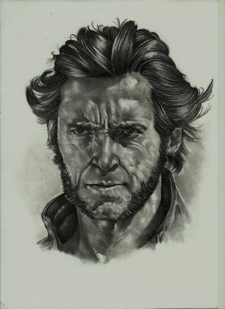 Hugh Jackman by Exalion